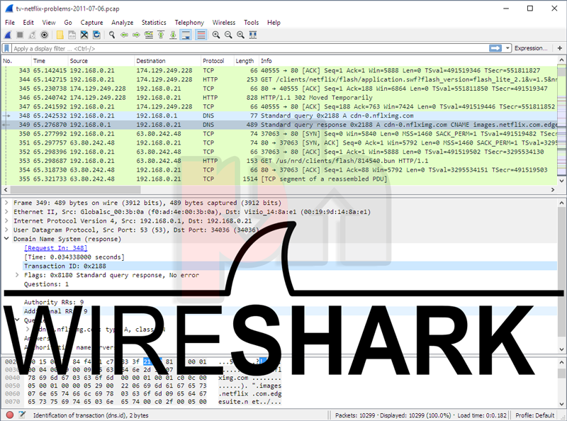 Wireshark app