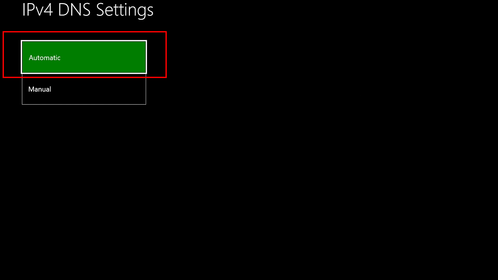 Entering Settings on Xbox one/Xbox 360 game console